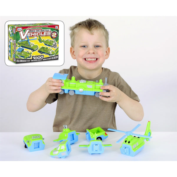 Magnetic Mix-Up Vehicles (set 2)