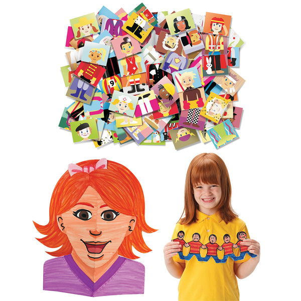 Arts & Crafts Junior Mosiacs & Self Portrait Kit