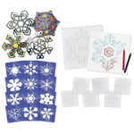 Arts & Crafts Junior Winter Wonderland Stencils, Fames & Rubbing Plates