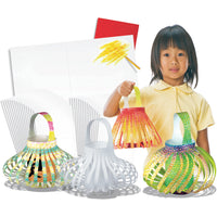 COLOUR IN CHINESE LANTERNS - Make amazing paper lanterns!
