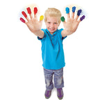 FINGER PAINT SENSATIONS KIT- Increase the sensational appeal of finger paint!
