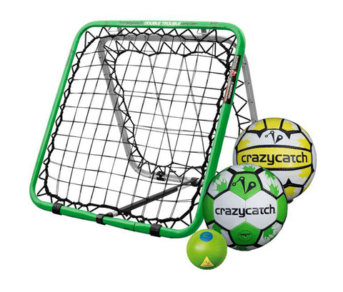 Crazy Catch Upstart DT Multisport - with 3 balls! (Netball/Football/Vision Ball) - 79x79cm