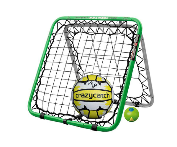 Crazy Catch Netball Upstart DT Rebound Net - with 2 balls (Netball & Visionball)