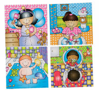 Early Years Jigsaw Puzzles - Looking After Ourselves (4 puzzles in one box)