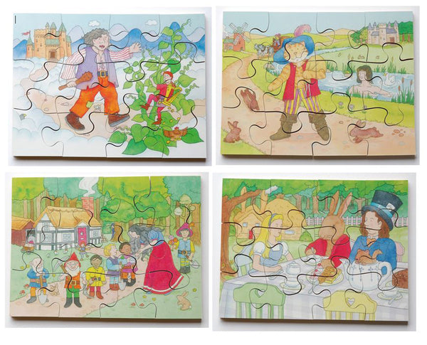 Junior Jigsaw Puzzles - Story Time 2 (4 puzzles in one box)