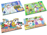 Junior Wooden Jigsaw Puzzles - Emotions Set1 (4 puzzles in one box)