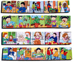 Junior Wooden Jigsaw Puzzles - Story Telling Set1 ( 4 puzzles in one box)