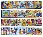Junior Wooden Jigsaw Puzzles - Story Telling Set2 ( 4 puzzles in one box)