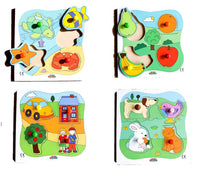 Early Years BIG Peg Boards - ( 4 boards in one box)