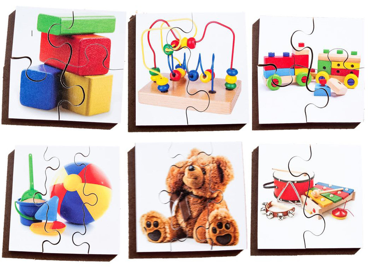 Early Years Jigsaw Puzzles - Toys & Games (6 puzzles in one box)