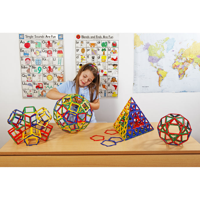 Polydron Frameworks Basics Set (280 pieces)