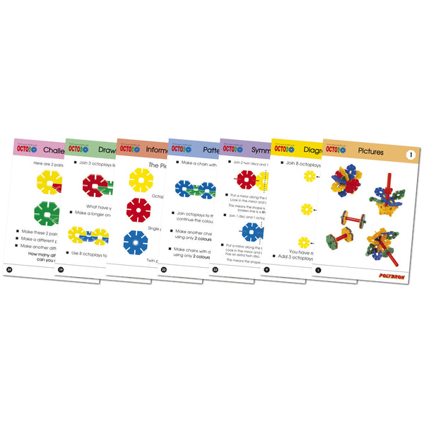 Octoplay Work Cards (25 double sided cards)