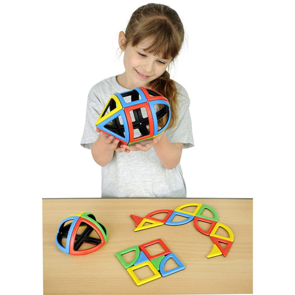 Magnetic Polydron Sphera Set
