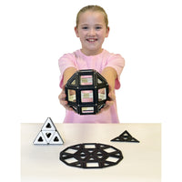 Magnetic Polydron Black & White Set