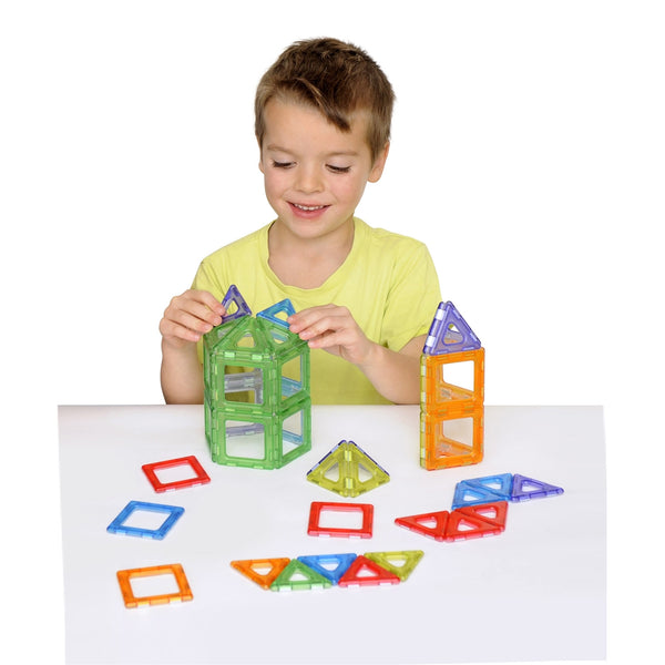 Magnetic Polydron Translucent Set