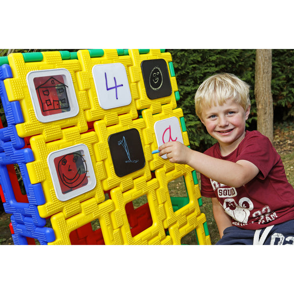 Giant Polydron Mark Making Set (9 pieces)