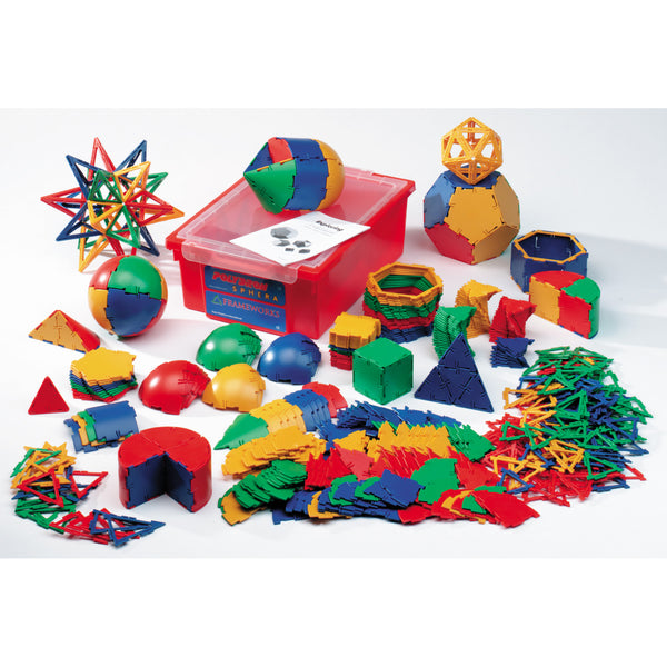 Polydron Framesworks-Sphera Mixed Set -3 (520 pieces)