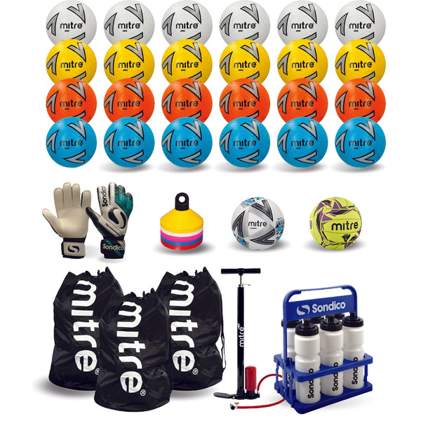 Mitre Classic Football Training Pack (size 3 & 4 mixed)