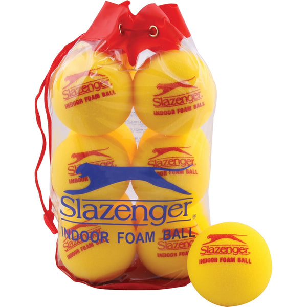 Mini Tennis Indoor Foam Ball - Set of 12