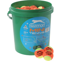 Mini Tennis Orange Bucket of Balls (60 balls)