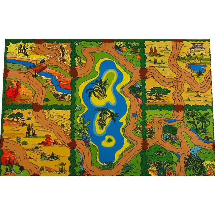 Giant Safari Playmat - Superb Habitats For All Your Toy Animals!