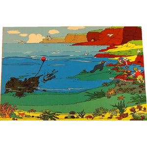 Giant Sea-Life Playmat - Superb Coastline And Ocean Habitats For All Your Favourite Toys!