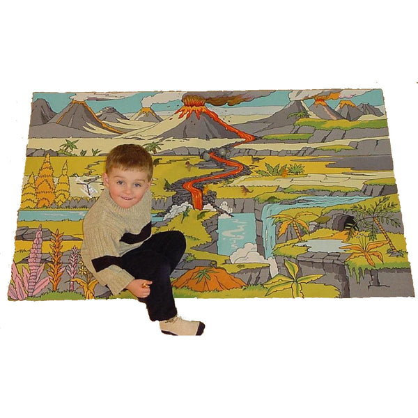 Giant Dinosaur Landscape Playmat - The Perfect Landscape For Dinosaurs Of Any Scale!