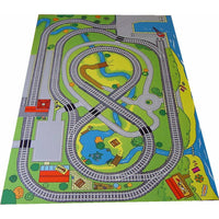 Giant Railway Playmat - A Fun Addition For The Bedroom, Playroom, Nursery Or Class Room!
