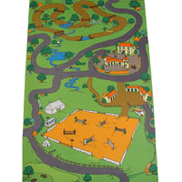 Giant Equestrian  Playmat - A Fun Addition For The Bedroom, Playroom, Nursery Or Class Room!