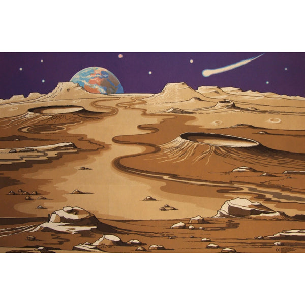 Giant Space Playmat - A Fun Addition For The Bedroom, Playroom, Nursery Or Class Room!