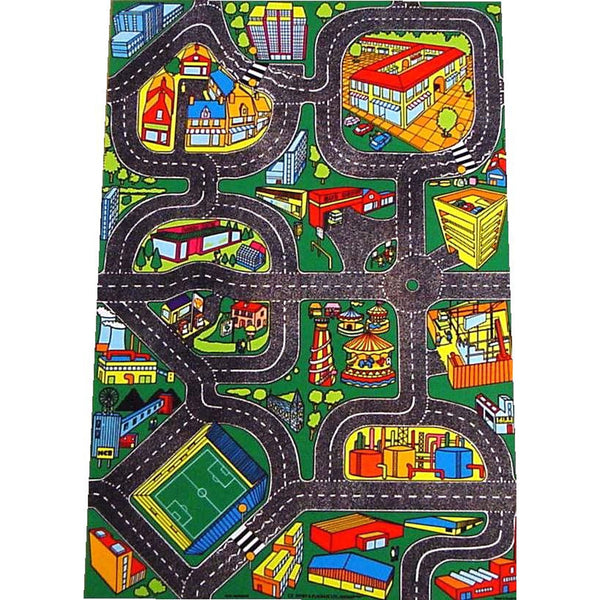 New Giant Roadway Playmat - It'S Loaded With Vibrant New Features, Even A Fun Fair!