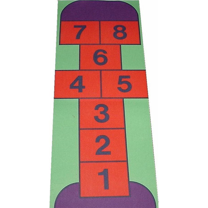 Giant Hopscotch Playmat - A Fun Addition For The Bedroom, Playroom, Nursery Or Class Room!