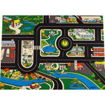 Large Roadway Playmat - A Colourful Town Scene Loaded With Details