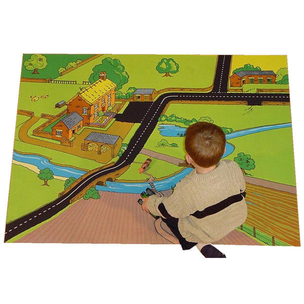 Giant Sycamore Farm Playmat - A Fun Addition For The Bedroom, Playroom, Nursery Or Class Room!
