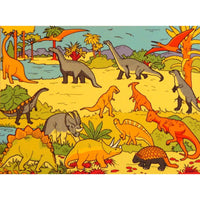 Giant Dinosaur Playmat - A Fun Addition For The Bedroom, Playroom, Nursery Or Class Room!