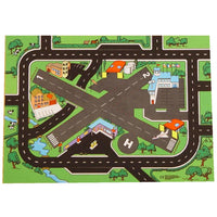 Combo Airport + Roadway Playmat - A Fun Addition For The Bedroom, Playroom, Nursery Or Class Room!