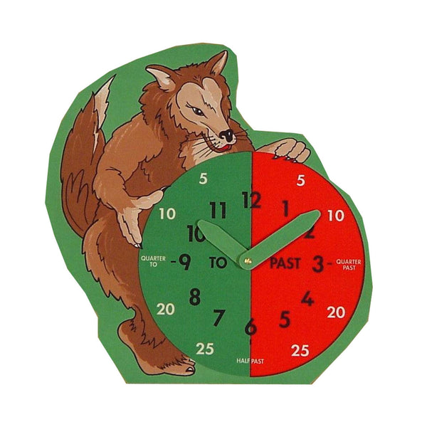 What Time Is It Mr Wolf? Clock Face - A Fun Way To Teach Children To Tell The Time!