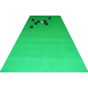 Carpet Bowls (400 X 100Cm) - Green Carpet - Perfect For Some Indoor Fun In A Restricted Area!