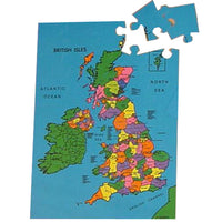 Large British Isles Map Puzzle - A Superb Way To Learn About Our Little Island!