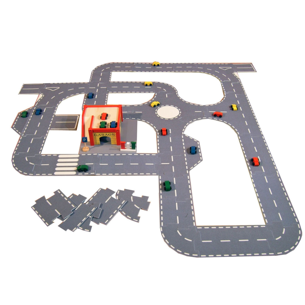 Giant Roadway System - 43 Large-Scale Pieces To Build A Gigantic Road System … A Great Gift!