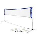 Zsig Garden Badminton Set (4.3m net) - Fantastic for all the family