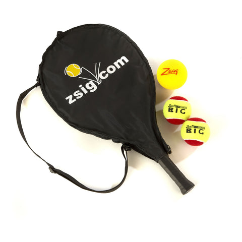 "MINI Tennis 21"" Racket with Headcover & 3 Balls - The perfect starter!"