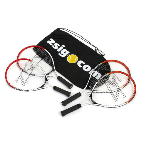 MINI Tennis Racket Set (4 Rackets) - Great for the family!