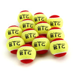 ZSIG Slocoach Big Red Mini Tennis Balls (12) - Approved by Int'l Tennis Federation