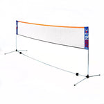 Zsig Badminton Net System (4.3m net) - Brilliant Fun!