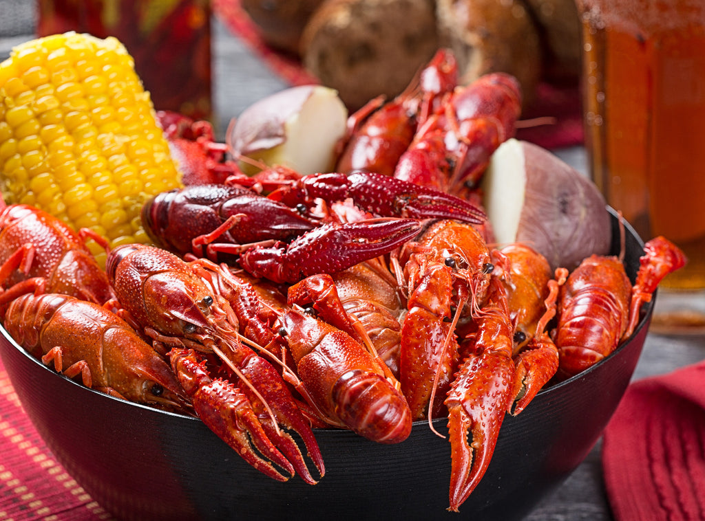Break Out The Corn and Potatoes- It's Crawfish Time!!