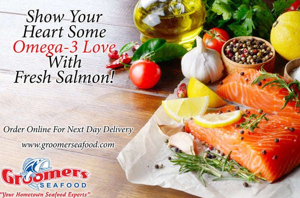 Show Your Heart Some Love With Seafood