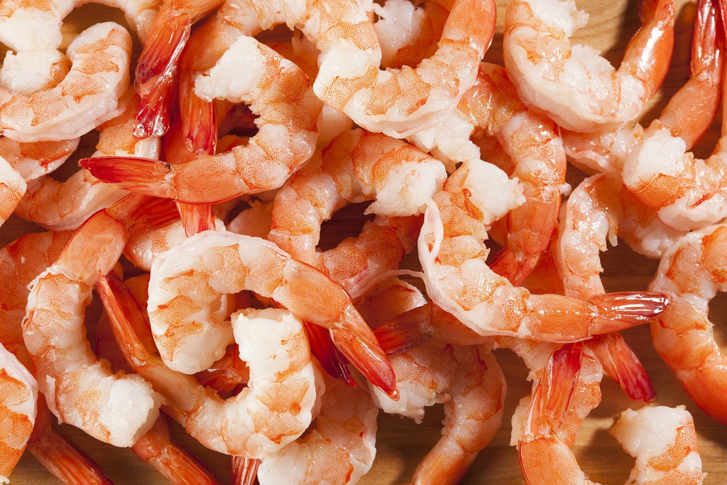 5 Pound Gulf Coast Brown Shrimp Bag IQF - Groomer's Seafood