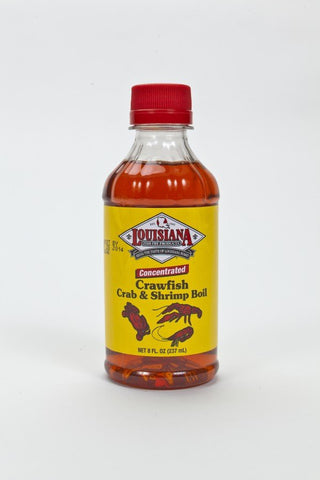 Louisiana Crab Boil Liquid 8oz - Groomer's Seafood