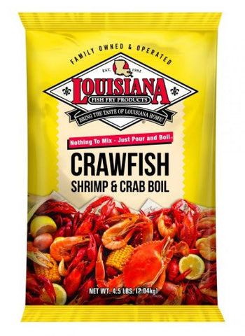 LA Crawfish, Shrimp and Crab Powdered Boil (4.5 lb.) - Groomer's Seafood